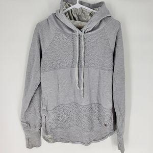 Pink lotus grey sweatshirt hoodie medium